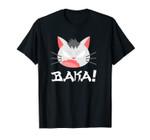Funny Japanese Anime Chibi Art Baka Cat Unisex T-Shirt