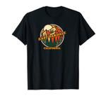 Vintage East Oakdale, California Mountain Hiking Souvenir Unisex T-Shirt