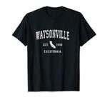 Watsonville California CA Vintage Athletic Sports Design Unisex T-Shirt