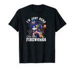 Dabbing Unicorn Uncle Sam Baseball 4th of July USA Patriotic Unisex T-Shirt