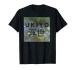 Ukiyo And Kanji Watercolor Art Unisex T-Shirt