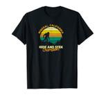 Retro Mineral, California Big foot Souvenir Unisex T-Shirt
