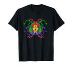 Colorful Left Brain Right Brain Art Psychology Psychological Unisex T-Shirt