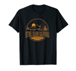 Vintage Bethel Island California Mountain Hiking Print Unisex T-Shirt