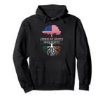 American Grown with Irish Roots - Ireland Pullover Hoodie, T-Shirt, Sweatshirt