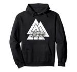 Vikings Valknut and Ravens White Norse Valhalla hoodie, T-Shirt, Sweatshirt