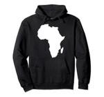Africa map Pullover Hoodie, T-Shirt, Sweatshirt