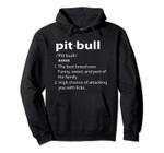 Funny PitBull Definition Hoodie, T-Shirt, Sweatshirt