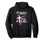 Unicorn Dabbbing Softball Hoodie Gifts Dab Funny Sweatshirt, T-Shirt, Sweatshirt