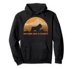 BOUVIER DES FLANDRES Hoodie, Sun Vintage Retro Hoodie Pullover Hoodie, T-Shirt, Sweatshirt