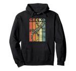 Retro Gecko Pullover Hoodie, T-Shirt, Sweatshirt