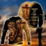 January Guy - Child Of God 3D All Over Printed Unisex Shirts