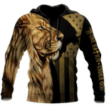 God Bless American - Lion Over  Unisex Shirts