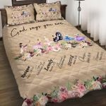 Felacia [Quilts Bedding Set] God says you are Girl AH0118