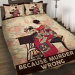 Felacia [Quilts Bedding Set] Sewing because murder is wrong DAH005