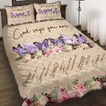 Felacia [Quilts Bedding Set] God say you are Testicular cancer AAH030