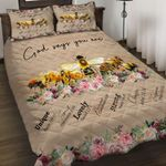 Felacia [Quilts Bedding Set + Canvas] God says you are BEE AH008