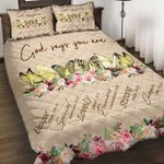 Felacia [Quilts Bedding Set] God say you are Sarcoma or bone cancer AAH028