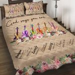 Felacia [Quilts Bedding Set] God say you are Violin AH0082