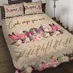 Felacia [Quilts Bedding Set] God says you are Butterfly - Breast Cancer AH0096