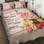 Felacia [Quilts Bedding Set] A cheerful heart is good medicine, but a crushed spirit dries up the bones BAH022