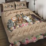Felacia [Quilts Bedding Set] God says you are Owl AH0076