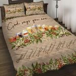 Felacia [Quilts Bedding Set] God says you are coffee LT0073