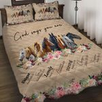 Felacia [Quilts Bedding Set] Horses AH004