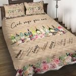 Felacia [Quilts Bedding Set] God says you are wine AH0089