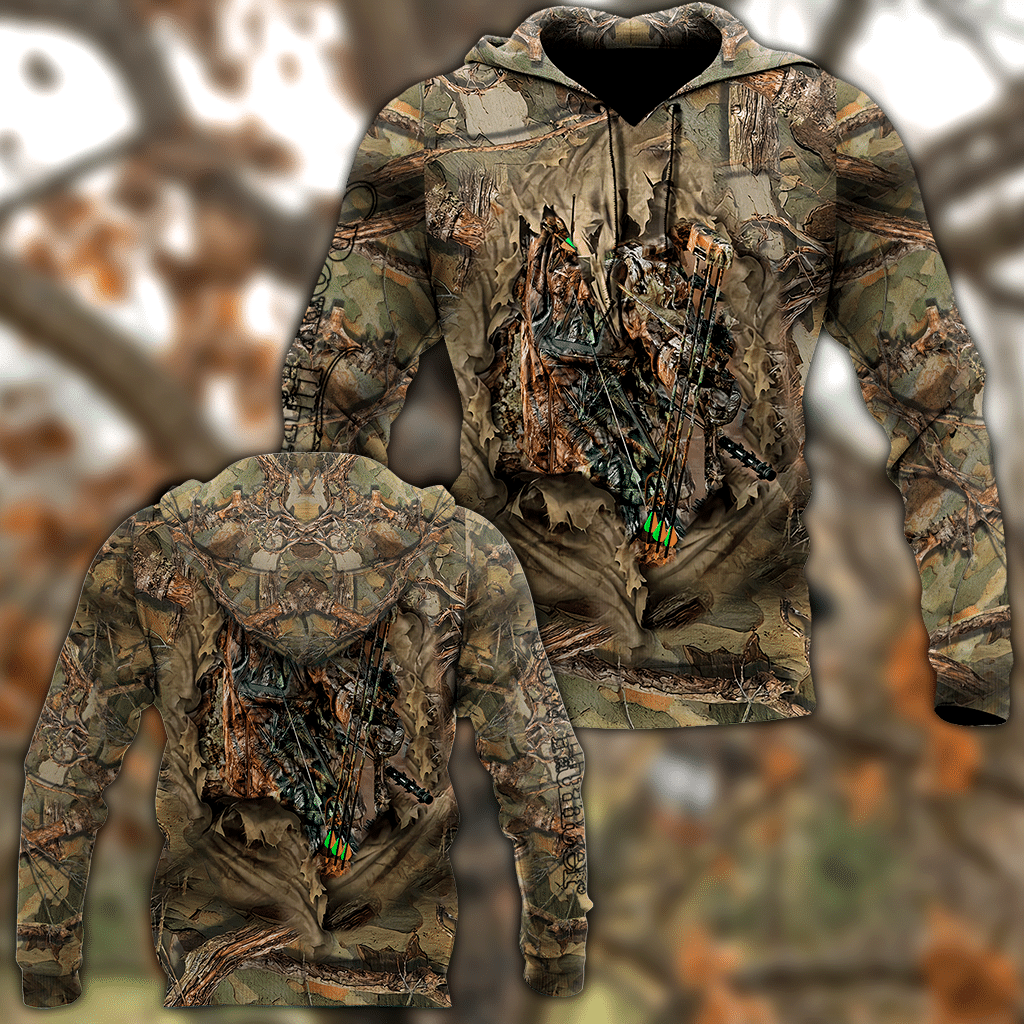 Bow Hunter 3D All Over Printed Shirts For Men DD08142001-LAM