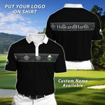 Felacia Personalized Black Polo T-Shirt TO27