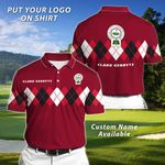Felacia Personalized Golf Polo T-Shirt TO210406