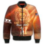 Felacia One Nation Under God 3D All Over Printed Clothes AHCCL14