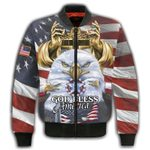 Felacia God Bless America 3D All Over Printed Clothes AHCCL24
