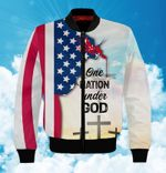 Felacia One Nation Under God 3D All Over Printed Clothes AHCCL27