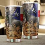 Felacia [Tumbler]  Texas TX elk hunting camo Customize name Cup - Personalized Fishing gift for Fishing lovers - NQS990C3829