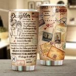 Felacia [Tumbler] Mom to Daughter - Never forget how much I love you - C5663