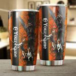 Felacia [Tumbler] Raccoon hunting coonhound camo Custom name Cup - Personalized Hunting gifts FEB21 FSD1509C3704