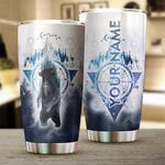 Felacia [Tumbler]  Forest Bear Camping Customize name cup - Personalized mug for Camping lovers Chipteeamz - NLXS119C3745