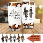Felacia [Tumbler] Riding Partners For Life Customized Couple Love Horse - Gift For Horse IdeaC5845