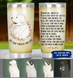 Felacia [Tumbler] Great Pyrenees Poem - Personalized Great Pyrenees Mom C5979