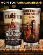 Felacia [Tumbler] Gift For Dad Father And Daughter Riding Partner For Life Father Day CPC2868