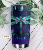 Felacia [Tumbler] Gift For Dragonfly Lover Dragonfly Blue Personalized LNC2771