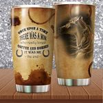 Felacia [Tumbler] There Was A Mom - For Horse Idea - Gift For Horse LoversC5723
