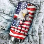 Felacia [Tumbler] Eagle US Flag C2631