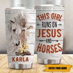 Felacia [Tumbler] Jesus X Horse This Girl Runs On Jesus And HorsesC5323