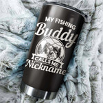 Felacia [Tumbler] Walleye Fishing Dad Customize nickname Cup Personalized funny unique best Father's day Fishing gift ideas present for dad - IPH1257C3899