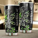Felacia [Tumbler]  Country girl Deer hunting muddy girl green camo Custom name Cup - Personalized gifts for country girl - FSD1143C3887