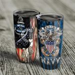 Felacia [Tumbler] U.S. Navy Flag The Sea Is Ours C0453