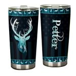 Felacia [Tumbler] Personalized name drinkware family gift ideas for family friends - Deer Night Forest TY17022122 C3042